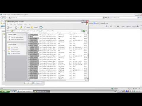 HOW TO DELETE SEARCH HISTORY-INTERNET EXPLORER
