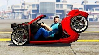 Download GTA 5 REALISTIC CAR Damage Mod! (Funny) Video