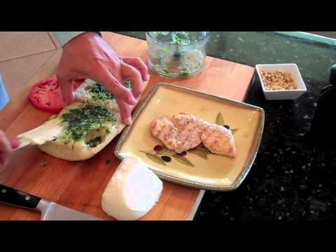 Chicken Panini Pesto