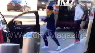 Takashi 69 Gets Beat Up At Airport. 5 On 2 And 6ix9ine Takes The L. 6ix9ine Talks To Cops.