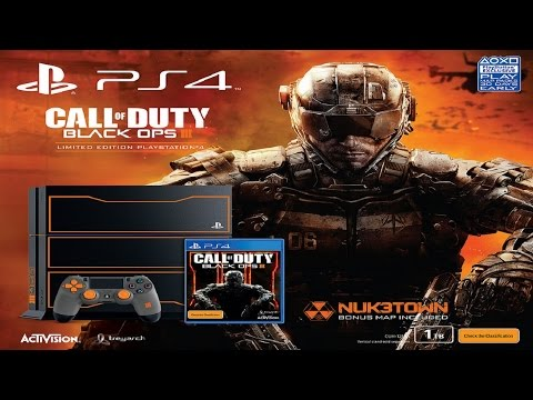 Unboxing Playstation 4 Call Of Duty Black Ops 3 Limited Edition ITA By Diablotex [PS4]