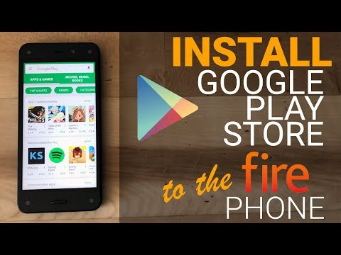 Install Google Play Store to Amazon Fire Phone (No Root)