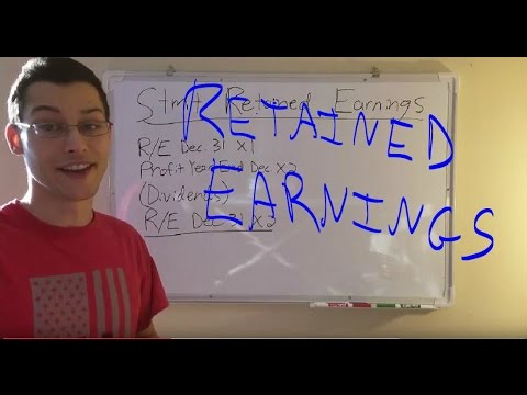 Accounting: Statement of Retained Earnings Tutorial
