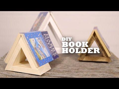 DIY Book Holder