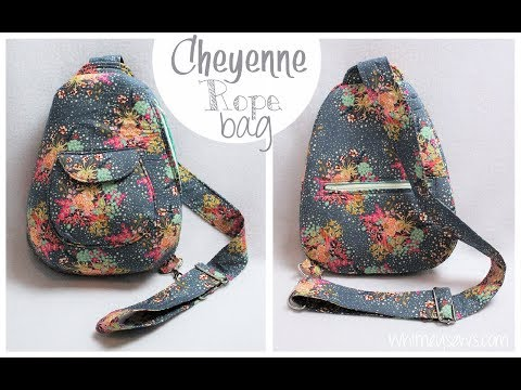 Cheyenne Rope Bag How to With Pins + Needles Kits | Whitney Sews