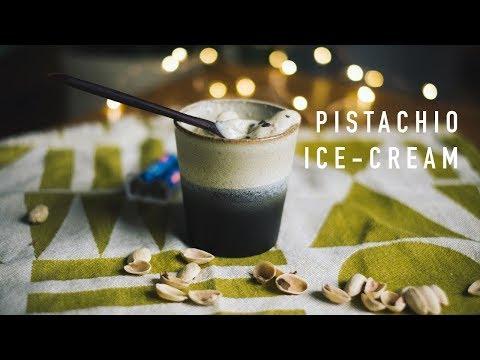 Vegan Pistachio Ice-Cream (Sugar-free)
