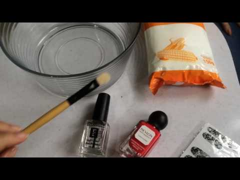 YesMeNina - DIY | How to Make Any Nail Polish Matte Using CORN STARCH.
