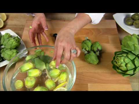 How to Make Baby Artichokes