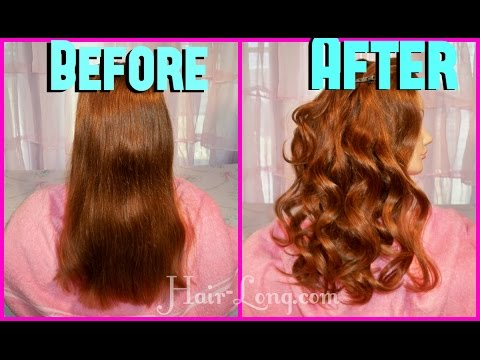 How to: Hot Rollers for Long Hair Review To get Victoria Secret Model's Hair Tutorial
