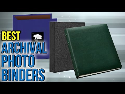 10 Best Archival Photo Binders 2017