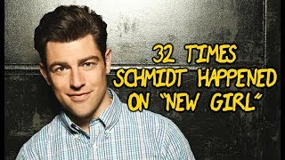 "32 Times Schmidt Happened On ""New Girl"""