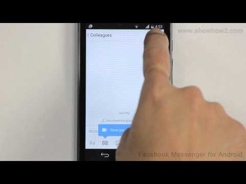 Facebook Messenger For Android - How To Change The Name Of A Group