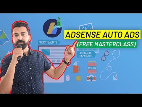 Google AdSense Auto Ads - Complete Walkthrough & Setup Guide [New]