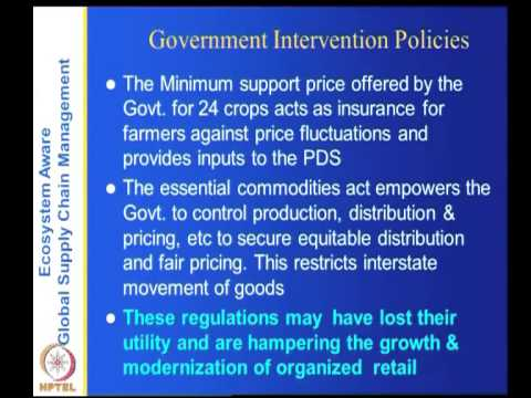 Mod-05 Lec-32 Food supply chain in India