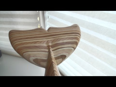 HOW TO MAKE a Wooden Dolphin Tail Sculpture
