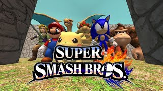 Pacman vs Super Smash Bros