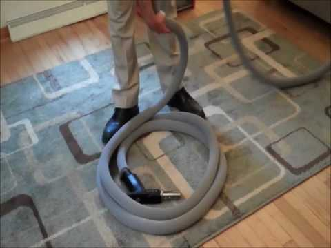 How to coil your central vacuum hose