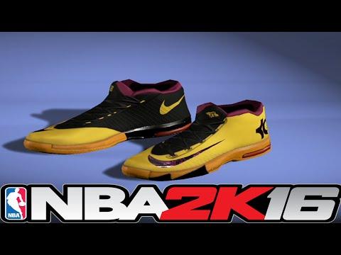 NBA 2K16 Shoe Creator - KD 6 PB&J ⋆#NBA2K16⋆