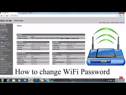 How to change wifi password [EASY VIDEO]