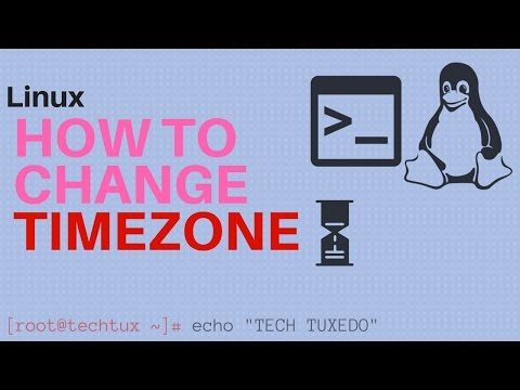 Linux - How to change timezone