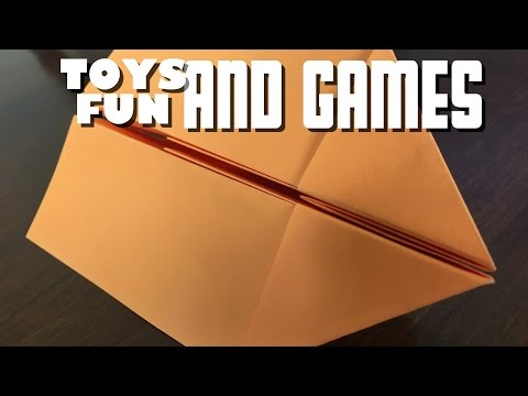 How to Make an Easy Paper Airplane that flies far - Easy and Fast for Kids