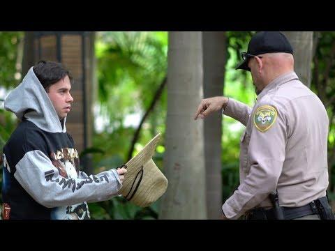 Fake Zoo Employee Prank! (POLICE FOUND US)