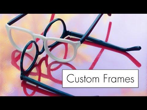 Custom Glasses for Ian Wright