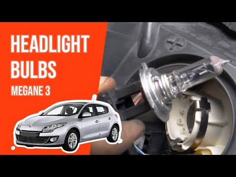 [ TUTORIAL RENAULT MEGANE 3 ]  How to change the front lightbulbs