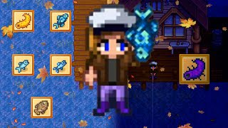 Fall Ocean Fishing Stardew Valley [all Day And All Night]