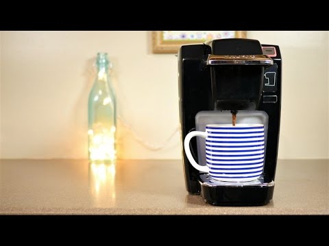 How to clean your Keurig with distilled vinegar.