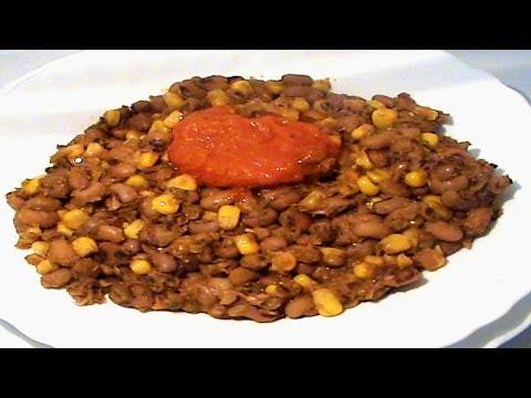 Nigerian Beans and Sweet Corn Porridge (Adalu/Ewa ati Agbado/Agwa na Oka)