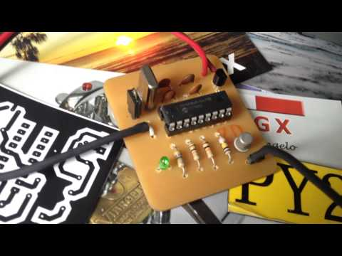 Morse Code with PIC 16F84A for CW Beacon Transmitter