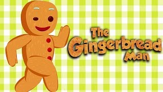 The Gingerbread Man | Full Story | Animated Fairy Tales For Children | 4K UHD