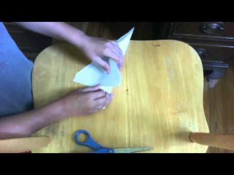 how to make paper airplane: the custom