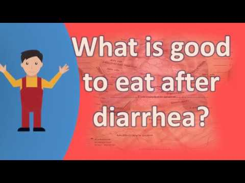 What is good to eat after diarrhea ? | Health FAQs