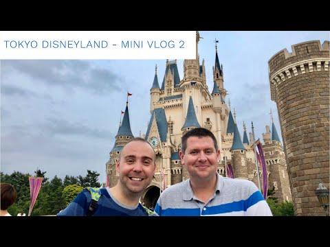 Tokyo Disneyland May 2018 - Daily Mini Vlog 2 - Travel Day and Tokyo Disneyland