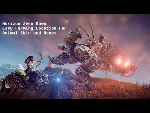 Horizon Zero Dawn Carry Capacity Farming Easy Way!