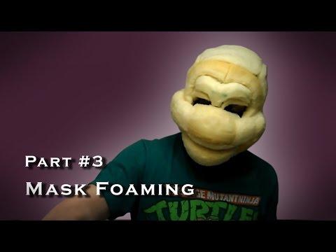 Making a Teenage Mutant Ninja Turtle Costume - Cosplay - Part 003
