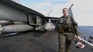 The Only Female Pilot Rocks