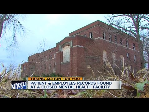 Patient records left behind in abandoned hospital