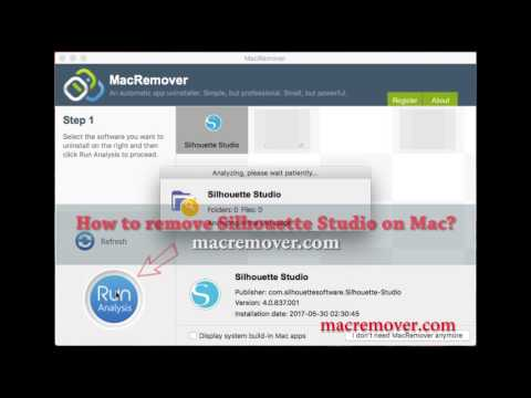 How to Remove Silhouette Studio on your macOS and Mac OS X?