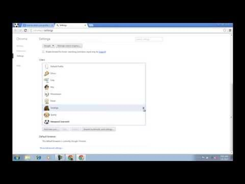 How To Delete User Profile In Google Chrome?