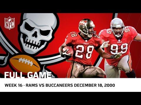 Buccaneers Revenge | Buccaneers vs. Rams | Week 16, 2000 | NFL Full Game