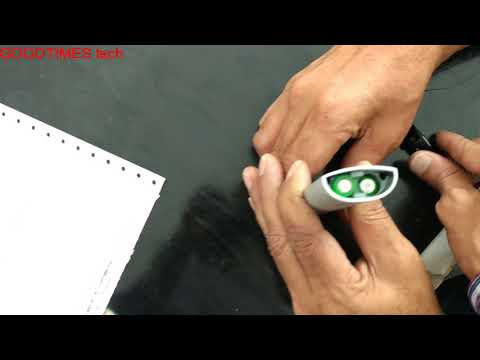 How to replace battery of TCL 65QHD Curved TV Air Mouse | Voice command Remote.