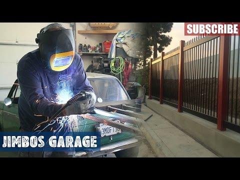 Welding Fence & Gate - Jimbos Garage