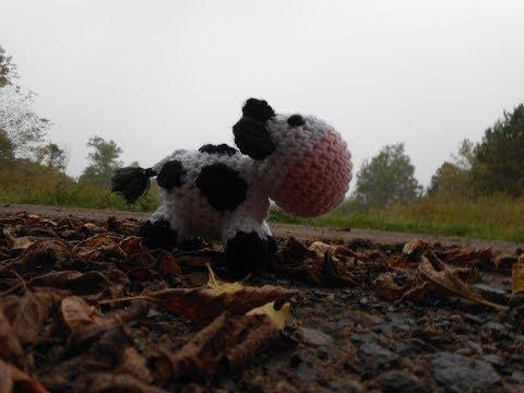 Amigurumi Crochet Cow Tutorial
