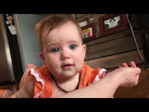 Baby makes impressive fart noises