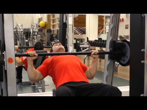 Smith Machine Incline Bench Press - Chest Exercise