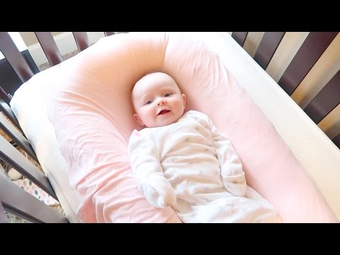 FIRST TIME IN CRIB! SLEEP TRAINING?!