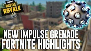 New Impulse Grenade!! Fortnite Battle Royale Highlights - Ninja